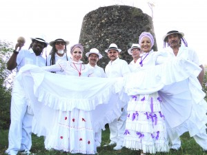 The image of the band Hijos de Agüeybaná from Puerto Rica