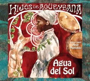 Agua del Sol CD cover due to be released September 2012